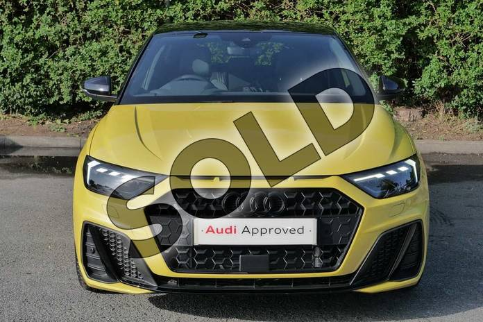 Image seven of this 2020 Audi A1 Sportback Special Editions 35 TFSI S Line Style Edition 5dr S Tronic in Python Yellow Metallic at Worcester Audi