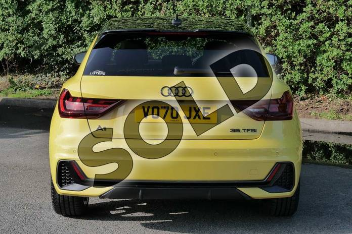Image nine of this 2020 Audi A1 Sportback Special Editions 35 TFSI S Line Style Edition 5dr S Tronic in Python Yellow Metallic at Worcester Audi