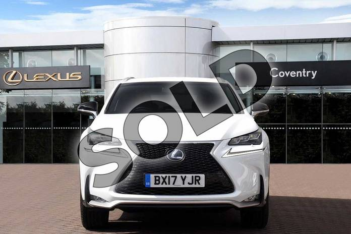 Image four of this 2017 Lexus NX300h F-SPORT Premium Navigation Red Heated Leather Seat in F Sport White at Lexus Coventry