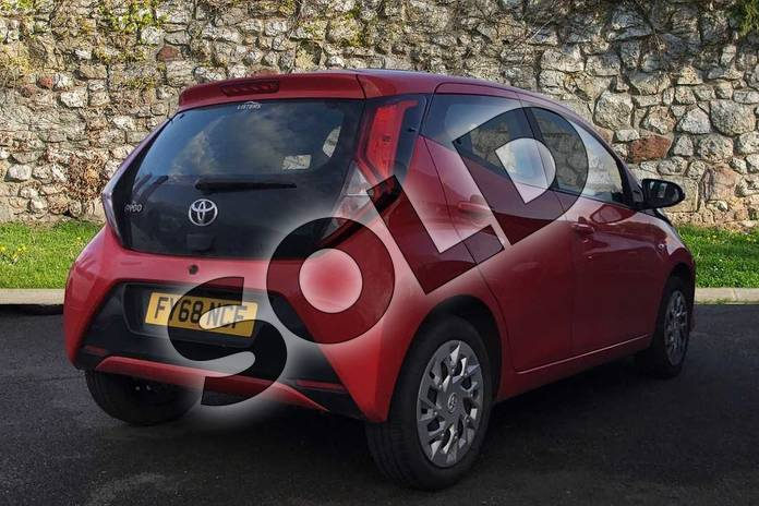 Image two of this 2018 Toyota Aygo Hatchback 1.0 VVT-i X-Play 5dr in Red Pop at Listers Toyota Grantham