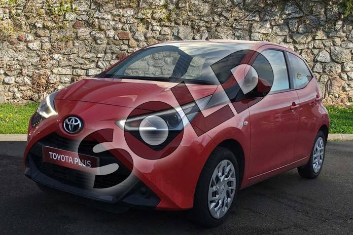 Image three of this 2018 Toyota Aygo Hatchback 1.0 VVT-i X-Play 5dr in Red Pop at Listers Toyota Grantham
