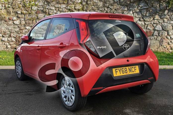 Image four of this 2018 Toyota Aygo Hatchback 1.0 VVT-i X-Play 5dr in Red Pop at Listers Toyota Grantham