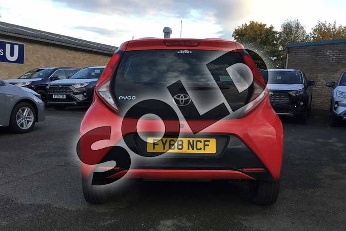 Image nineteen of this 2018 Toyota Aygo Hatchback 1.0 VVT-i X-Play 5dr in Red Pop at Listers Toyota Grantham