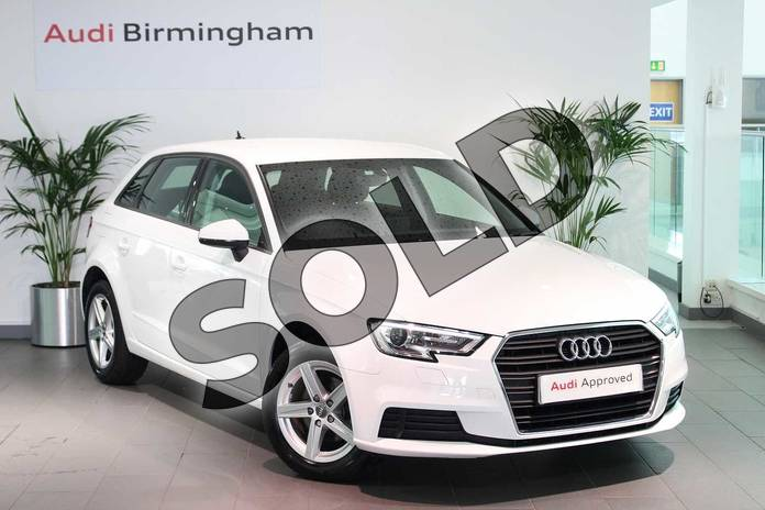 Picture of Audi A3 30 TFSI 116 SE Technik 5dr in Ibis White