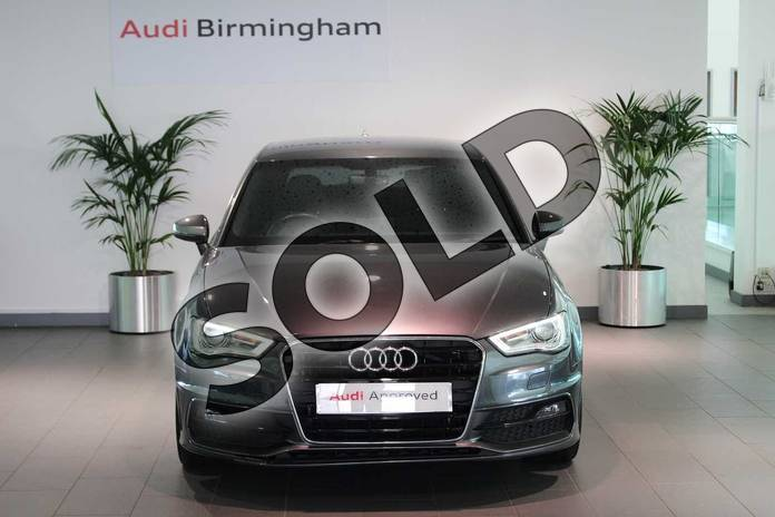 Image seven of this 2016 Audi A3 Diesel Sportback 2.0 TDI S Line 5dr S Tronic (Nav) in Daytona Grey Pearlescent at Birmingham Audi