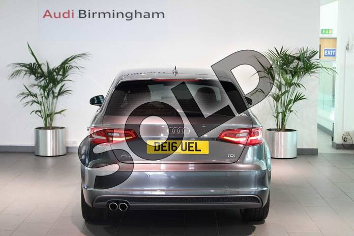 Image thirteen of this 2016 Audi A3 Diesel Sportback 2.0 TDI S Line 5dr S Tronic (Nav) in Daytona Grey Pearlescent at Birmingham Audi