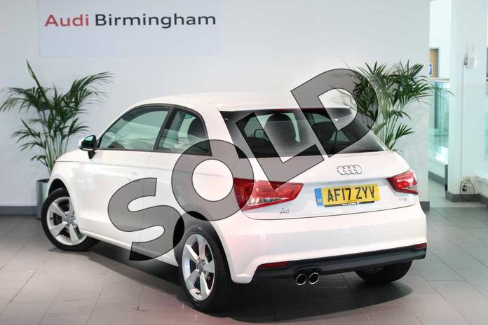 Image three of this 2017 Audi A1 Hatchback 1.4 TFSI Sport 3dr in Shell White at Birmingham Audi