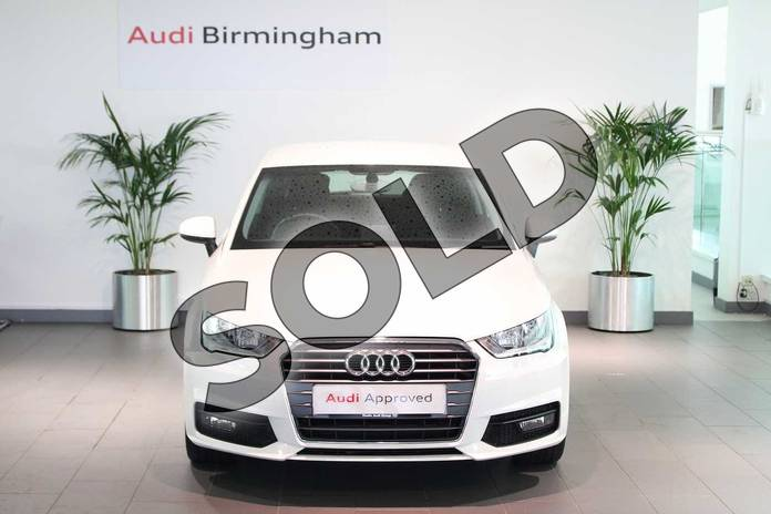 Image seven of this 2017 Audi A1 Hatchback 1.4 TFSI Sport 3dr in Shell White at Birmingham Audi