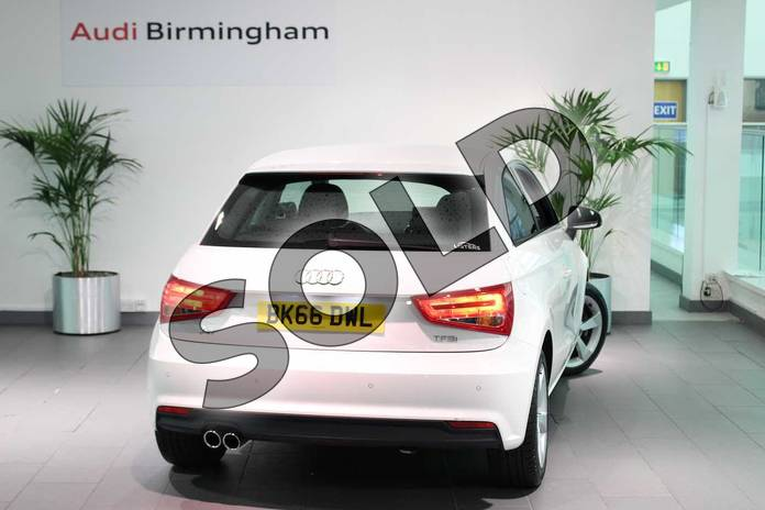 Image three of this 2016 Audi A1 Hatchback 1.4 TFSI Sport 3dr in Shell White at Birmingham Audi