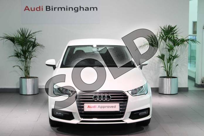 Image seven of this 2016 Audi A1 Hatchback 1.4 TFSI Sport 3dr in Shell White at Birmingham Audi