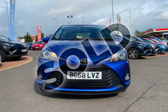 Image fifteen of this 2018 Toyota Yaris Hatchback 1.5 VVT-i Icon Tech 5dr in Nebula Blue at Listers Toyota Coventry