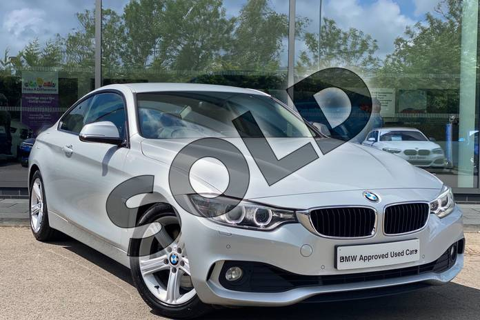Picture of BMW 4 Series 428i SE 2dr in Glacier Silver