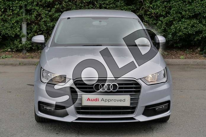 Image seven of this 2018 Audi A1 Hatchback 1.4 TFSI Sport 3dr in Floret Silver Metallic at Worcester Audi