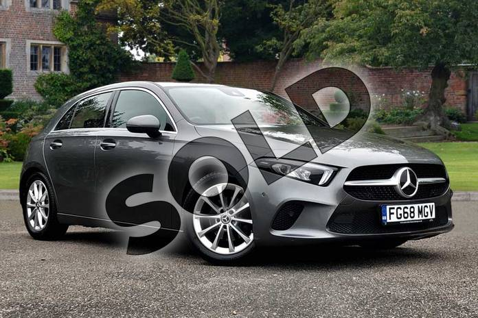 Picture of Mercedes-Benz A Class A180d Sport Executive 5dr Auto in Mountain Grey Metallic