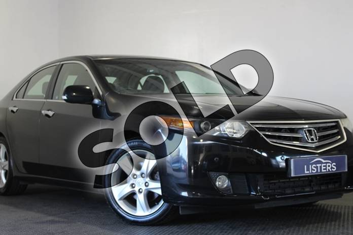 Picture of Honda Accord 2.0 i-VTEC EX 4dr Auto in Pearl - Crystal black