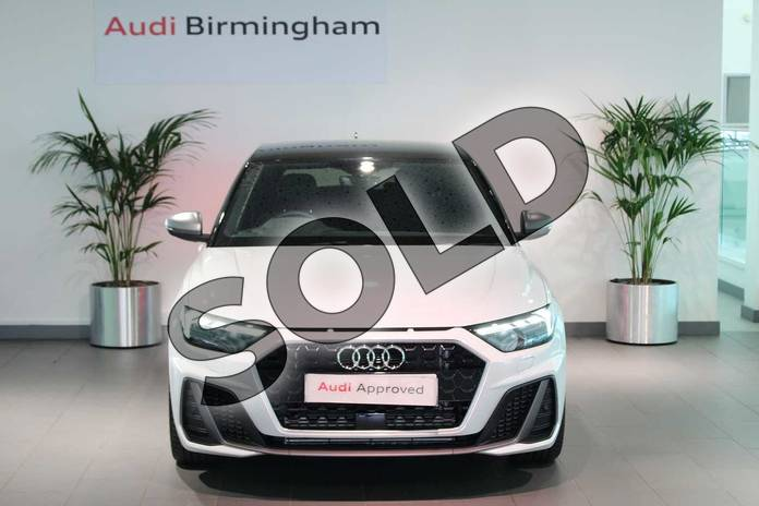 Image seven of this 2020 Audi A1 Sportback 40 TFSI S Line Competition 5dr S Tronic in Glacier White Metallic at Birmingham Audi