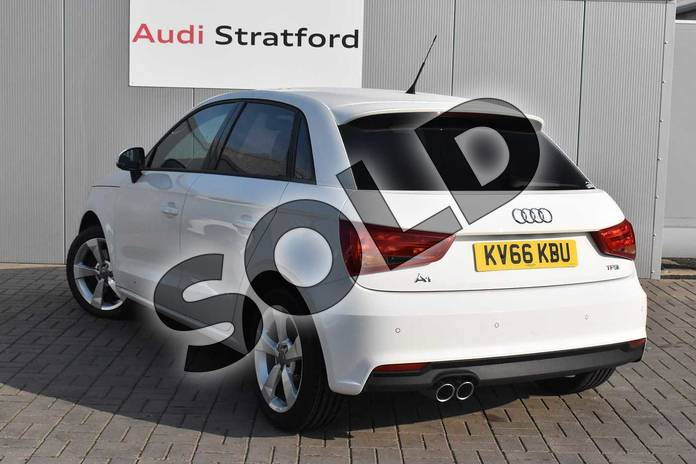 Image three of this 2016 Audi A1 Sportback 1.4 TFSI Sport 5dr in Shell White at Stratford Audi