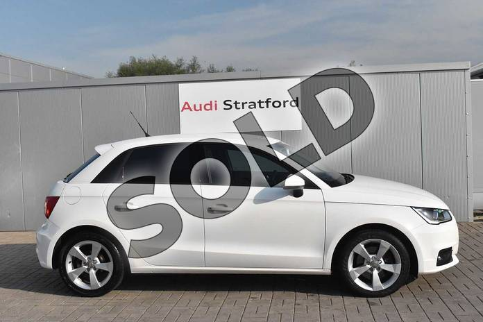 Image four of this 2016 Audi A1 Sportback 1.4 TFSI Sport 5dr in Shell White at Stratford Audi