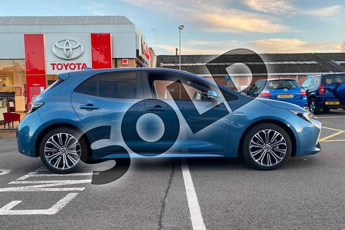 Image sixteen of this 2019 Toyota Corolla Hatchback 1.8 VVT-i Hybrid Design 5dr CVT in Denim Blue at Listers Toyota Coventry
