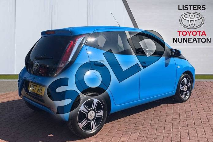 Image two of this 2017 Toyota AYGO Hatchback Special Editions 1.0 VVT-i X-Clusiv 3 5dr in Blue at Listers Toyota Nuneaton