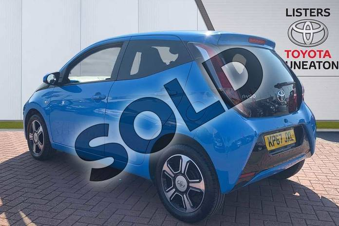 Image four of this 2017 Toyota AYGO Hatchback Special Editions 1.0 VVT-i X-Clusiv 3 5dr in Blue at Listers Toyota Nuneaton