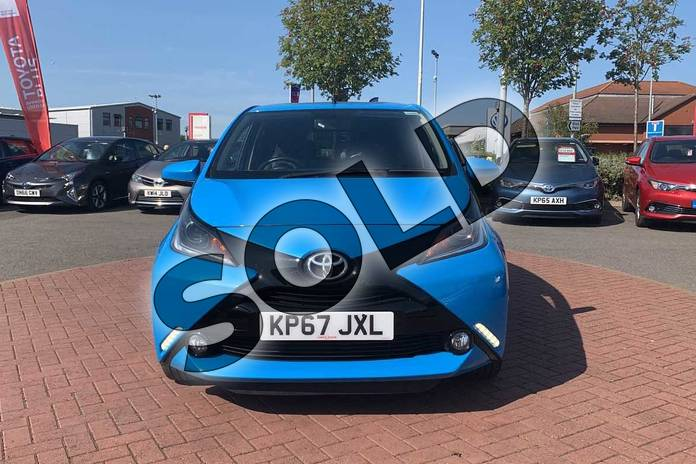 Image fifteen of this 2017 Toyota AYGO Hatchback Special Editions 1.0 VVT-i X-Clusiv 3 5dr in Blue at Listers Toyota Nuneaton