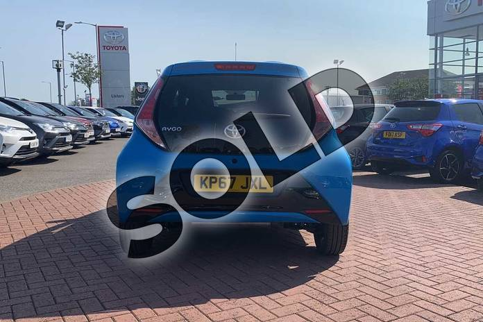 Image nineteen of this 2017 Toyota AYGO Hatchback Special Editions 1.0 VVT-i X-Clusiv 3 5dr in Blue at Listers Toyota Nuneaton