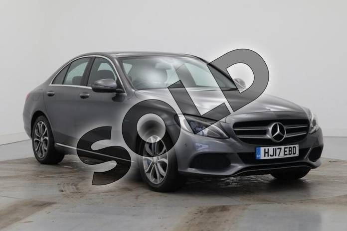 Picture of Mercedes-Benz C Class C350e Sport Premium 4dr Auto in Selenite Grey Metallic