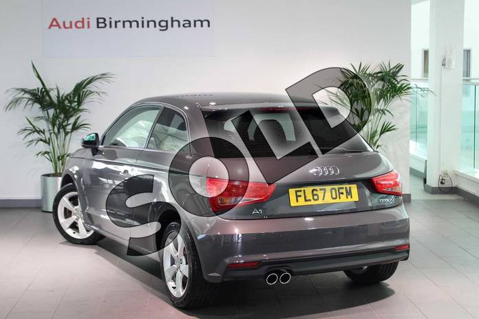 Image three of this 2017 Audi A1 Hatchback 1.4 TFSI Sport 3dr in Nano Grey Metallic at Birmingham Audi