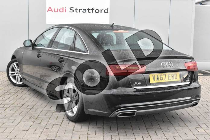 Image three of this 2018 Audi A6 Diesel Saloon 2.0 TDI Ultra S Line 4dr S Tronic in Myth Black Metallic at Stratford Audi