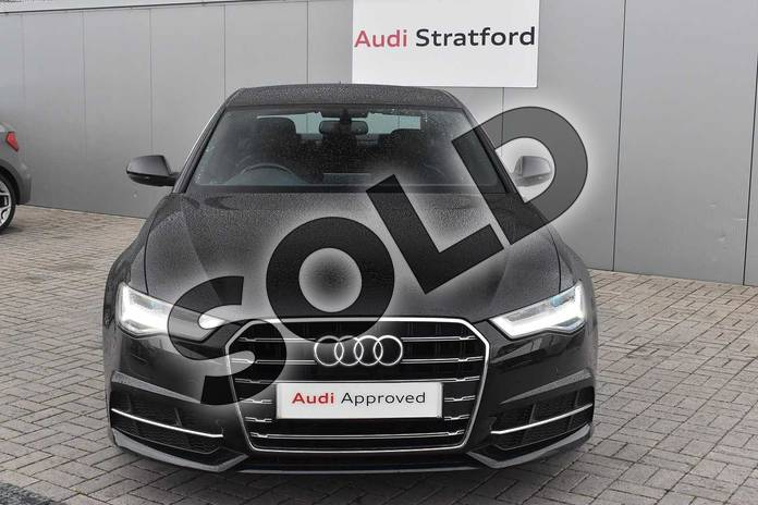 Image seven of this 2018 Audi A6 Diesel Saloon 2.0 TDI Ultra S Line 4dr S Tronic in Myth Black Metallic at Stratford Audi