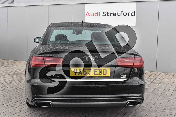 Image nine of this 2018 Audi A6 Diesel Saloon 2.0 TDI Ultra S Line 4dr S Tronic in Myth Black Metallic at Stratford Audi