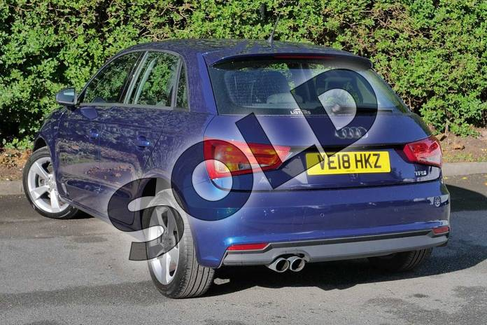 Image three of this 2018 Audi A1 Sportback 1.4 TFSI Sport Nav 5dr in Scuba Blue Metallic at Worcester Audi