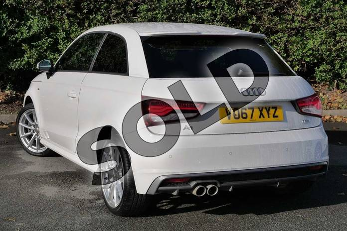Image three of this 2017 Audi A1 Hatchback 1.4 TFSI S Line 3dr in Shell White at Worcester Audi