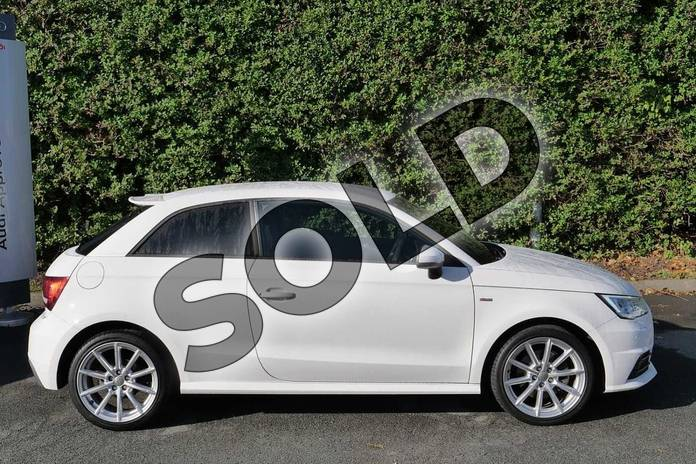 Image four of this 2017 Audi A1 Hatchback 1.4 TFSI S Line 3dr in Shell White at Worcester Audi
