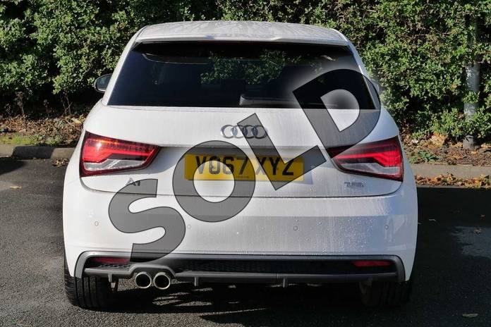 Image nine of this 2017 Audi A1 Hatchback 1.4 TFSI S Line 3dr in Shell White at Worcester Audi