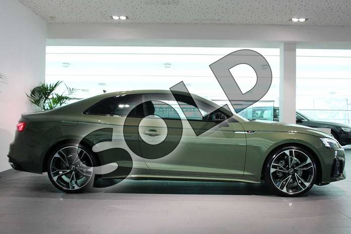Image four of this 2020 Audi A5 Coupe Special Editions 40 TFSI Edition 1 2dr S Tronic in District Green Metallic at Birmingham Audi