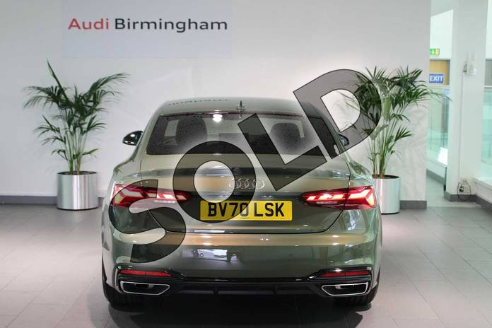 Image seventeen of this 2020 Audi A5 Coupe Special Editions 40 TFSI Edition 1 2dr S Tronic in District Green Metallic at Birmingham Audi