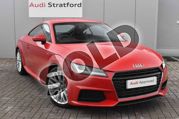 Picture of Audi TT 1.8T FSI S Line 2dr in Tango Red, metallic