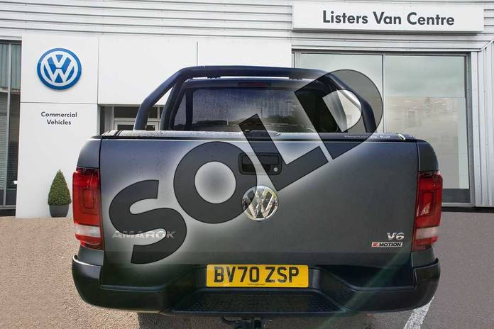 Image five of this 2020 Volkswagen Amarok A33 Diesel D/Cab Pick Up Highline 3.0 V6 TDI 258 BMT 4M Auto in Grey at Listers Volkswagen Van Centre Coventry