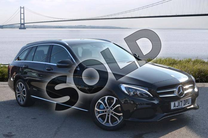 Picture of Mercedes-Benz C Class C350e Sport 5dr Auto in Obsidian Black Metallic