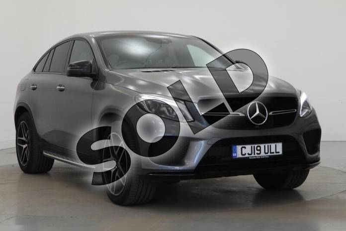 Image four of this 2019 Mercedes-Benz GLE Diesel Coupe GLE 350d 4Matic AMG Night Ed Prem + 5dr 9G-Tronic in selenite grey metallic at Mercedes-Benz of Lincoln