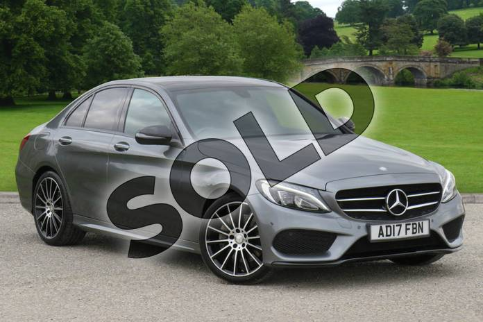 Picture of Mercedes-Benz C Class C250d AMG Line Premium 4dr 9G-Tronic in Selenite Grey Metallic