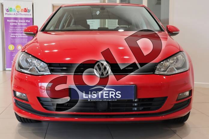 Image two of this 2014 Volkswagen Golf Hatchback 1.4 TSI Match 5dr in Solid - Tornado red at Listers U Northampton