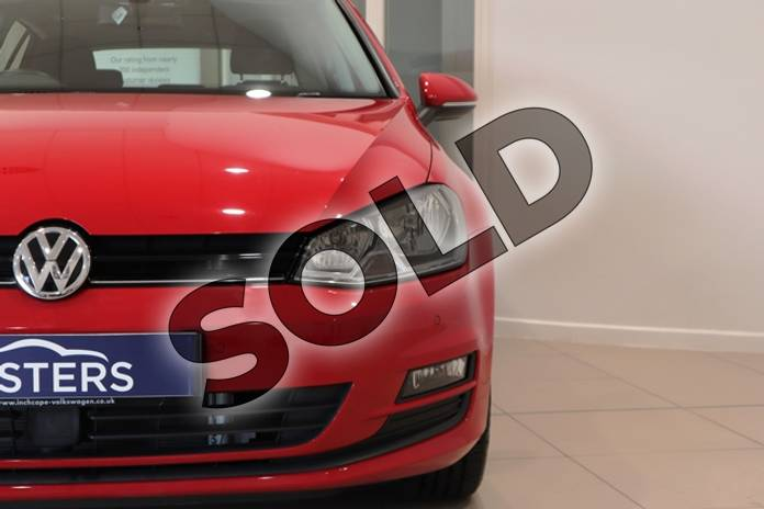 Image three of this 2014 Volkswagen Golf Hatchback 1.4 TSI Match 5dr in Solid - Tornado red at Listers U Northampton