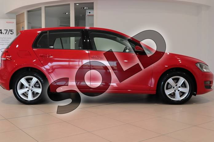 Image seven of this 2014 Volkswagen Golf Hatchback 1.4 TSI Match 5dr in Solid - Tornado red at Listers U Northampton