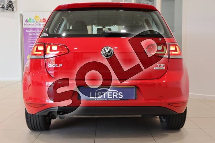 Image nine of this 2014 Volkswagen Golf Hatchback 1.4 TSI Match 5dr in Solid - Tornado red at Listers U Northampton