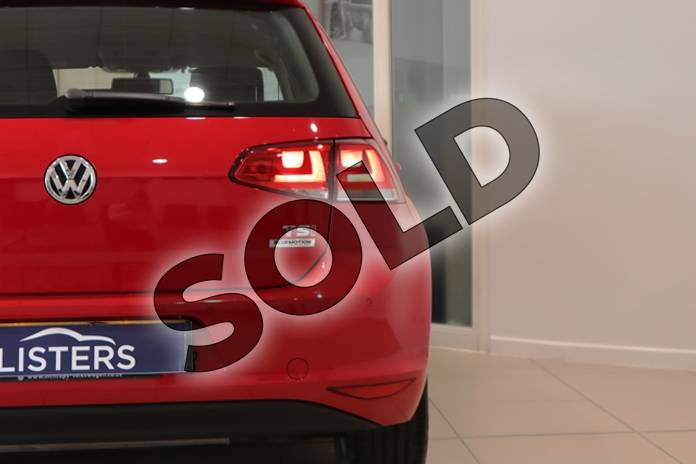 Image ten of this 2014 Volkswagen Golf Hatchback 1.4 TSI Match 5dr in Solid - Tornado red at Listers U Northampton