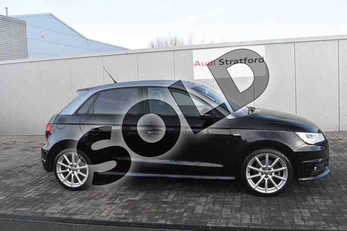 Image four of this 2017 Audi A1 Sportback 1.4 TFSI S Line 5dr in Brilliant Black at Coventry Audi