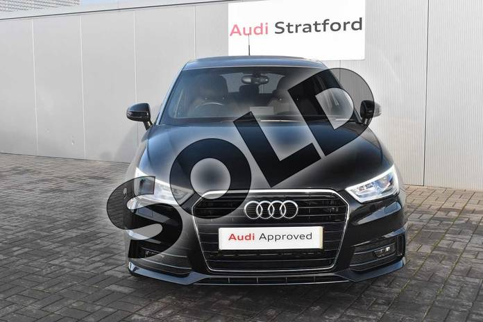Image seven of this 2017 Audi A1 Sportback 1.4 TFSI S Line 5dr in Brilliant Black at Coventry Audi